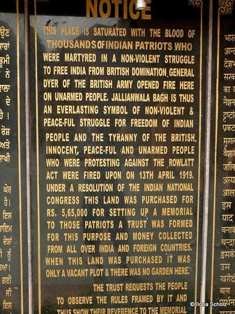 Jallianwala Bagh: The historical ....