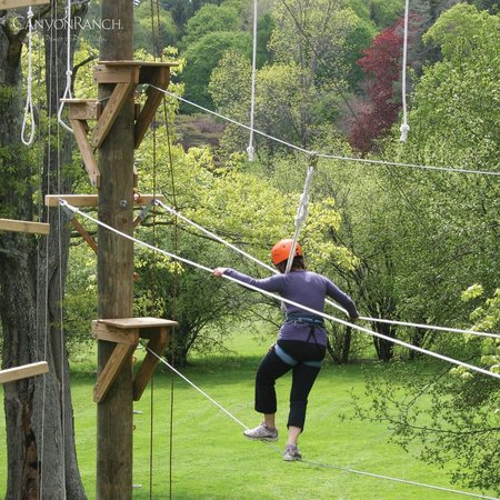 Canyon Ranch in Lenox: ropes course