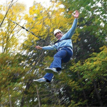 Canyon Ranch in Lenox: ropes fun
