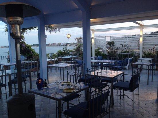Hotel Palladio: Ristorante in terrazza