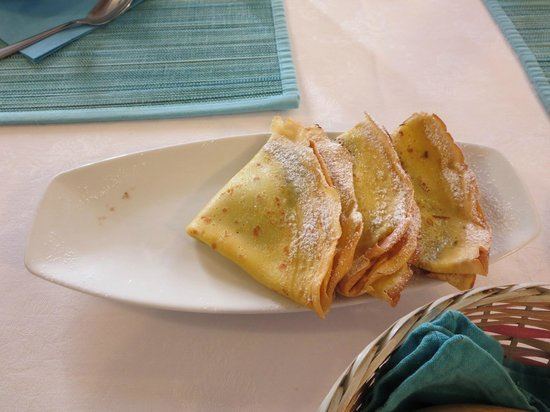 Al Teatro Bed & Breakfast: The amazing Nutella Crepes