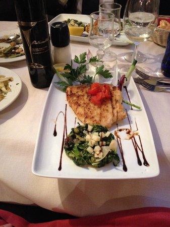 Le Tournedos : Pesce spada alla palermitana con un ottimo extra vergine