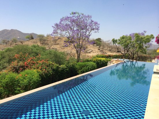 The Oberoi Udaivilas: Private infinity pool