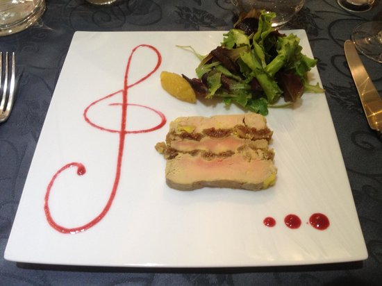 MELODYNICE: One of the starters - Fois gras