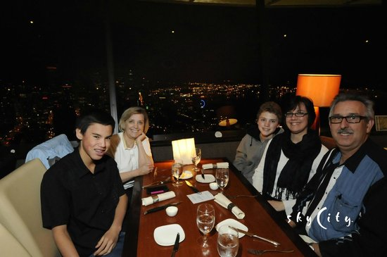 Space Needle Sky City: Dinner and a view