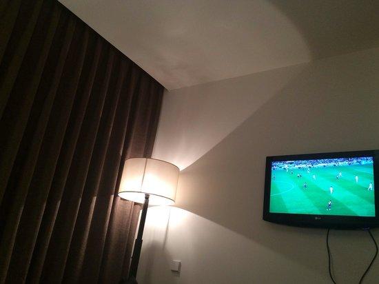 Hotel Eurostars Mar de Vigo: Muy cómodos en la habitación