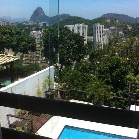 The Villa : Vista da suíte Corcovado1