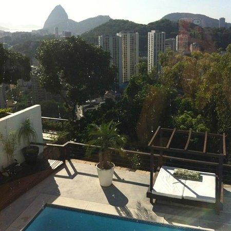 The Villa: Vista da suíte Corcovado 2