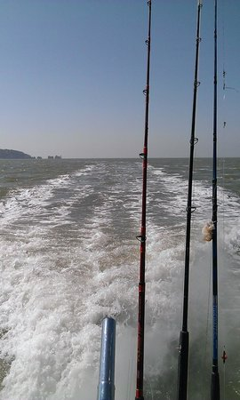 Black Rock Charters and Fishing: Heading back to Yarmouth