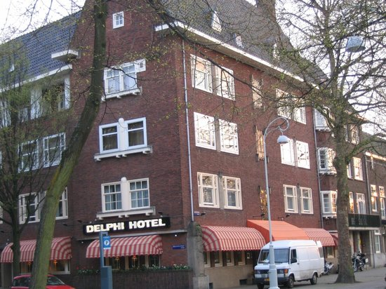 Best Western Delphi Hotel : façade hotel