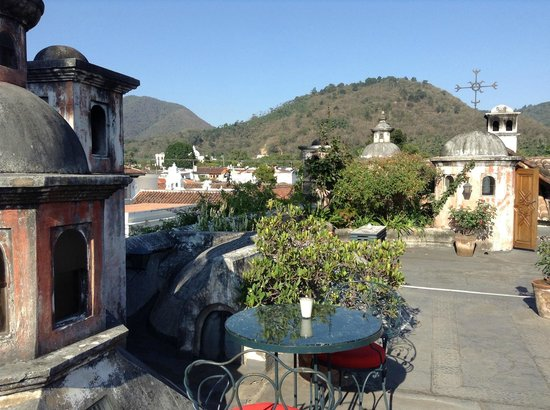 Meson Panza Verde: View from roof terrace