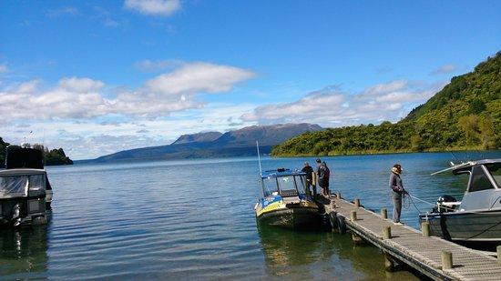 Totally Tarawera: Water Taxi, Lake Tarawera