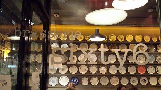 Brasserie Sixty6 : Entrance