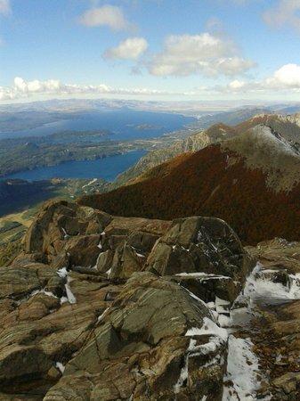 Andemita: En la cima del Cerro Lopez!