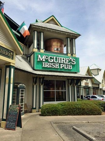 McGuire's Irish Pub entrance