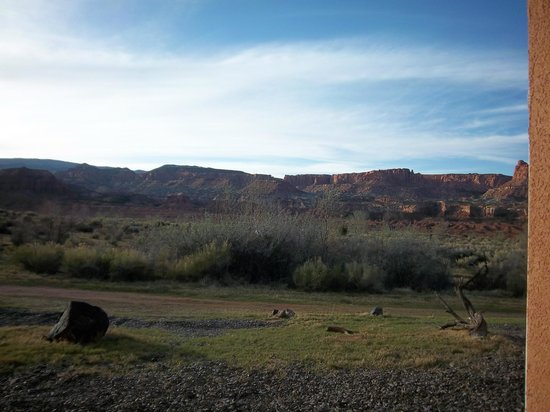 Capitol Reef Resort: what a view
