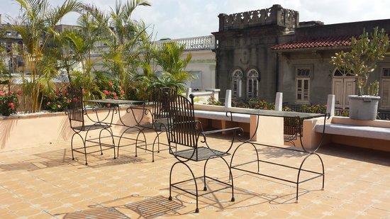El Beaterio Casa Museo : The roof terrace