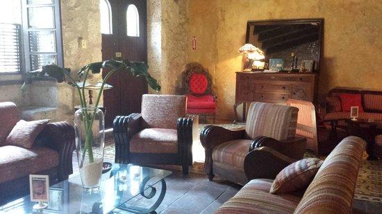 El Beaterio Casa Museo : The entrance/lobby area