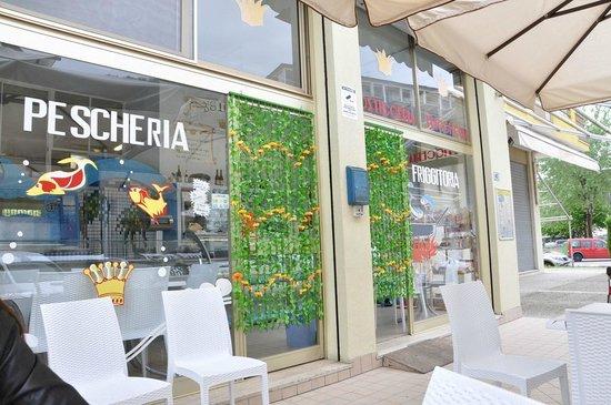 Pescheria Il Sire : Location