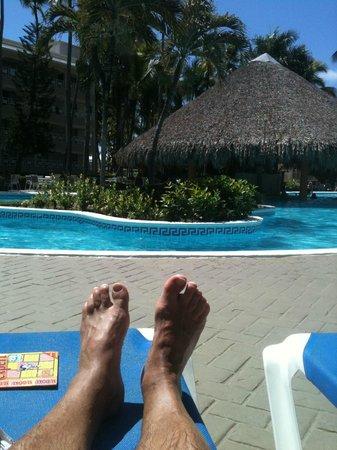 Vista Sol Punta Cana : pour le retour de plage et prendre de bon coktails a la piscine