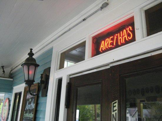 Aretha Frankensteins: Signage