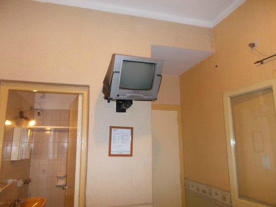 Kapac Hotel: Mendoza, Argentina, Hotel Kapac. Televisor básico pero con TV cable.