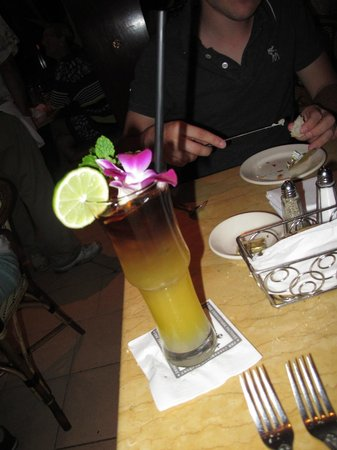 The Cheesecake Factory: drink