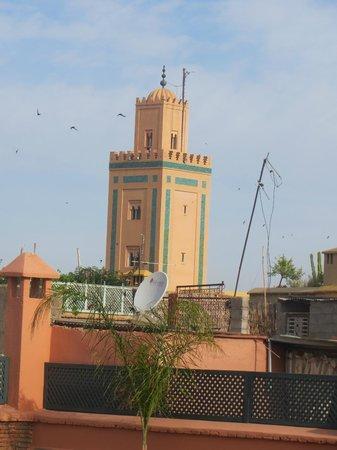 Riad Dar-K: view from terras
