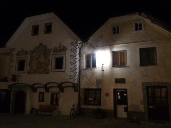 Radovljica Old Town: Radovljica - Old Town by night