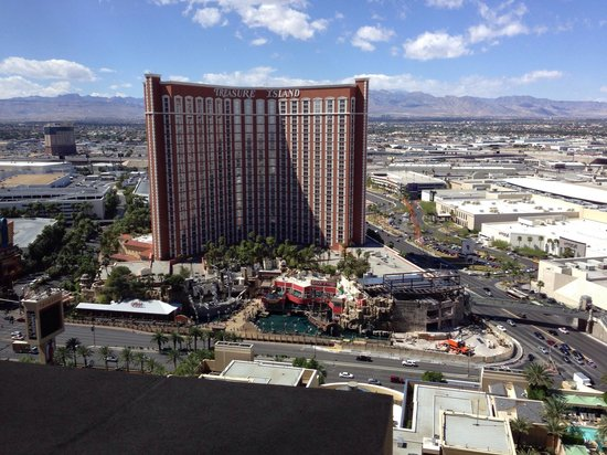 The Palazzo Resort Hotel Casino : View from the prestige lounge