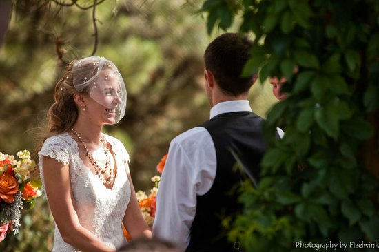 Canyon Crest Lodge: Reciting of Vows