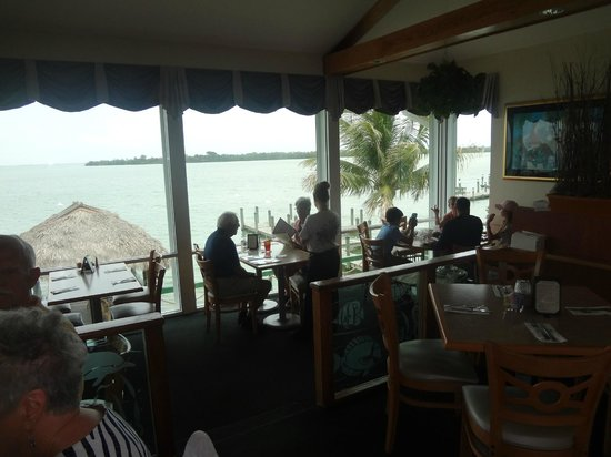 Green Flash: Looking out from the bar to the Gulf of Mexico