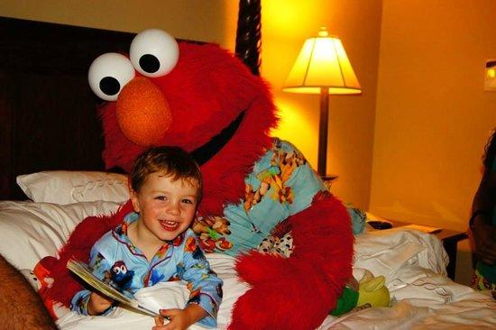Beaches Turks and Caicos Resort Villages and Spa: ELMO!