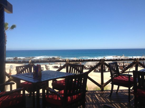 Grand Fiesta Americana Los Cabos All Inclusive Golf & Spa: outdoor dining relaxing