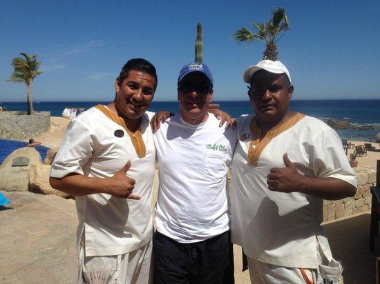 Grand Fiesta Americana Los Cabos All Inclusive Golf & Spa: The crew!