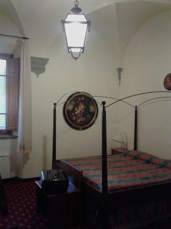 Albergo Quattro Gigli : camera matrimoniale