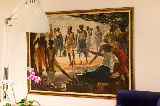 The Resort at Wilks Bay: Artwork
