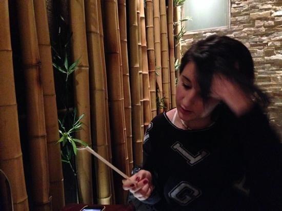 Citta del Drago: parete di bambu'