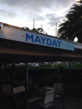 Mayday: Beautiful waterfront restaurant.