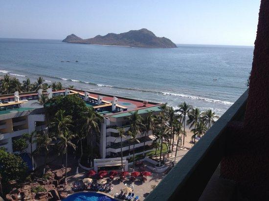 El Cid El Moro Beach Hotel: Deer island view