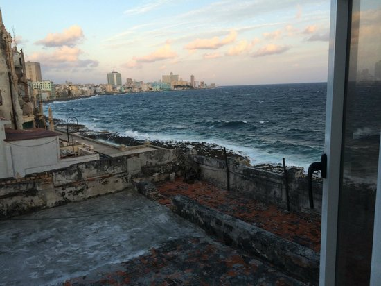 Casa Malecón Habana: View from the Window of our room
