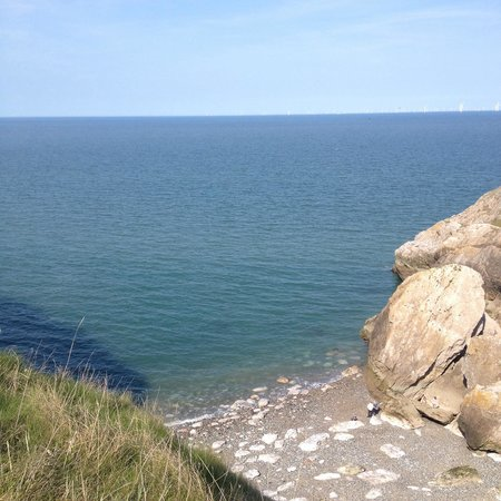 Little Orme: View of angel bay