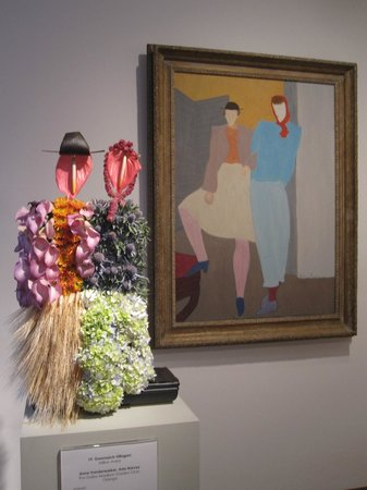 Virginia Museum of Fine Arts: Floral Arrangement interpretation of Exhibit Display