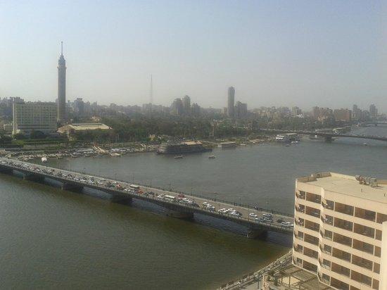 InterContinental Cairo Semiramis: View from Room