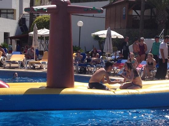 Iberostar Las Dalias : lots of fun at the pool!!!