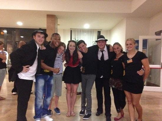 Iberostar Las Dalias : lovely people after the show