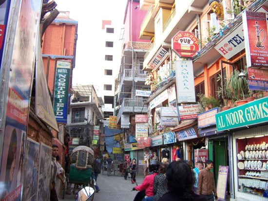 Hotel Thamel: Neighbourhood