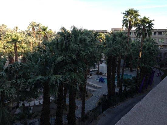 Hyatt Regency Indian Wells Resort & Spa: View from 4th floor Regency Club