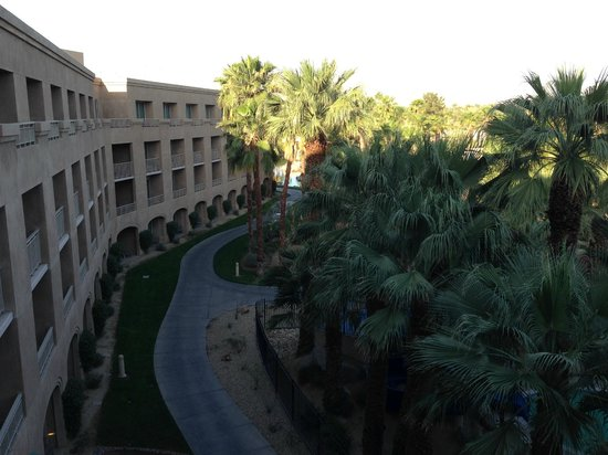 Hyatt Regency Indian Wells Resort & Spa: View from 4th floor Regency Club