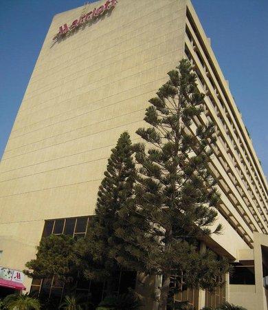 Karachi Marriott Hotel: On main entrance